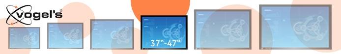 vogels s ulenhalterung f r 37 47 monitore g nstig kaufen rohrhalterung tv halterung s ulen. Black Bedroom Furniture Sets. Home Design Ideas