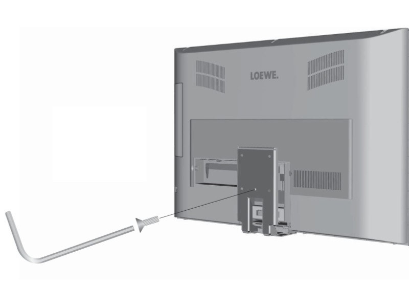 Loewe Adapter Vesa Lcd Kaufen Bei Monitorhalterung De