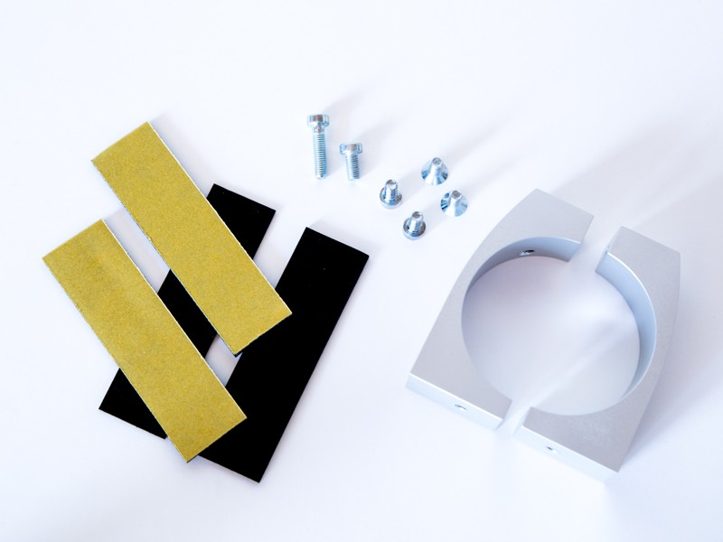 monlines mbr60s befestigungsring f r rohre 56 60mm silber. Black Bedroom Furniture Sets. Home Design Ideas