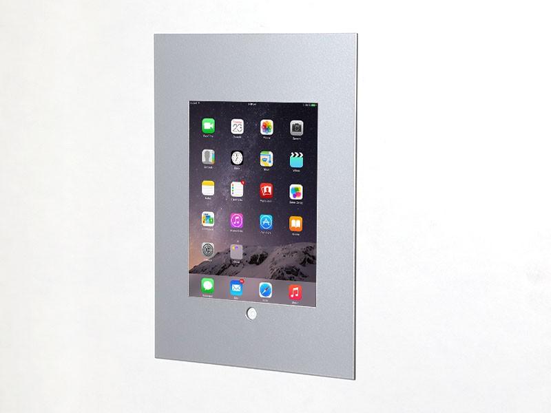 tablines twe054s tablet wandeinbau apple ipad air 2 silber. Black Bedroom Furniture Sets. Home Design Ideas