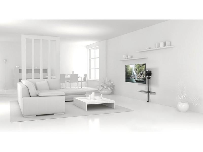 vogels designmount next kabelkanal mit av ablage. Black Bedroom Furniture Sets. Home Design Ideas