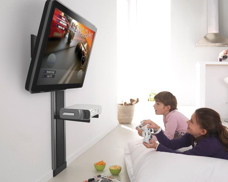 vogels efw 8305 wandhalterung superflat l vogels. Black Bedroom Furniture Sets. Home Design Ideas