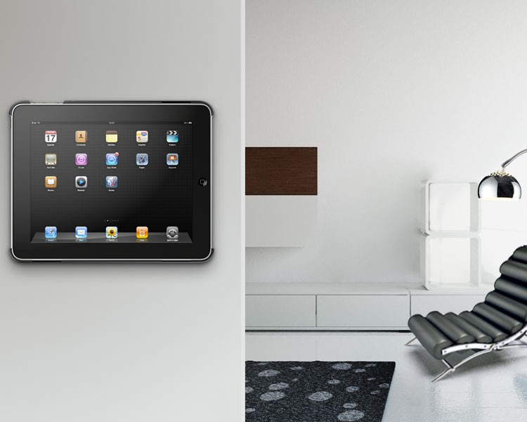 vogels pmc 205 basecover und wandhalterung f r apple ipad. Black Bedroom Furniture Sets. Home Design Ideas