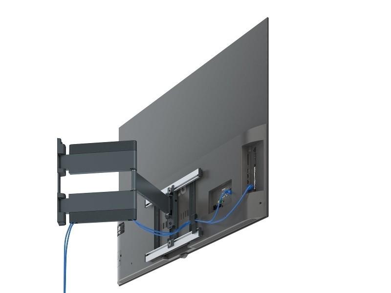 flache schwenkbare tv wandhalterung f r lg oled vogels thin 546. Black Bedroom Furniture Sets. Home Design Ideas