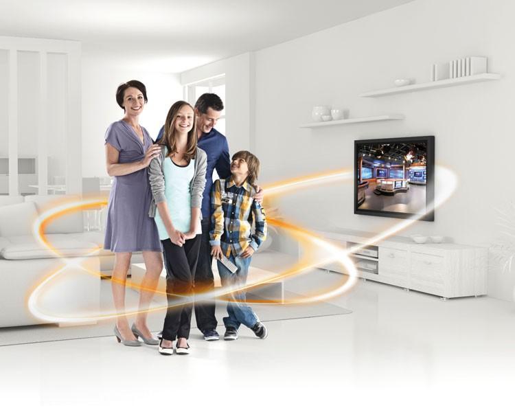 vogels tv wandhalterung wall 1005 schwarz vogels. Black Bedroom Furniture Sets. Home Design Ideas