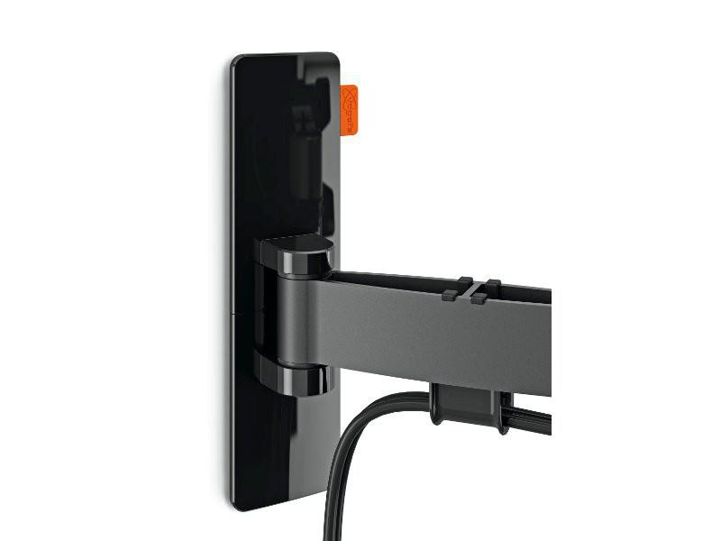 vogels wall 2025 schwenkbare tv wandhalterung schwarz. Black Bedroom Furniture Sets. Home Design Ideas