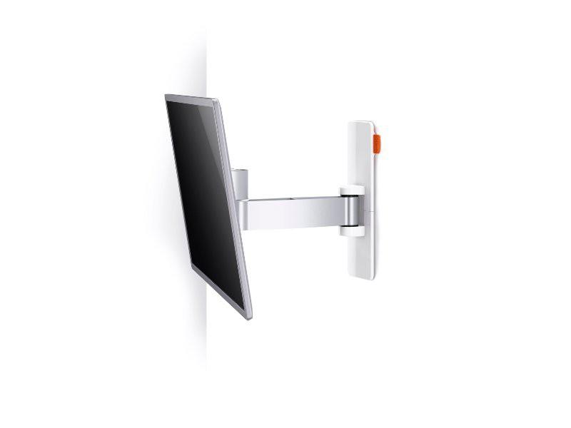 vogels wall 2025 schwenkbare tv wandhalterung wei. Black Bedroom Furniture Sets. Home Design Ideas