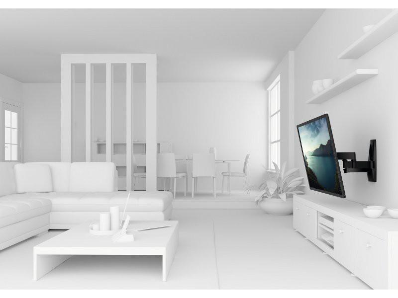 vogels wall 2250 schwenkbare tv wandhalterung schwarz. Black Bedroom Furniture Sets. Home Design Ideas