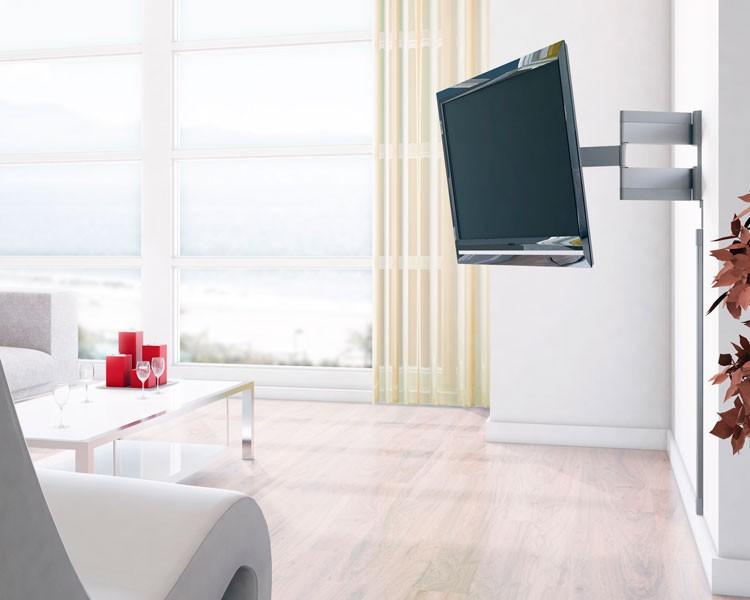 vogels thin 345 tv wandhalterung vogels. Black Bedroom Furniture Sets. Home Design Ideas