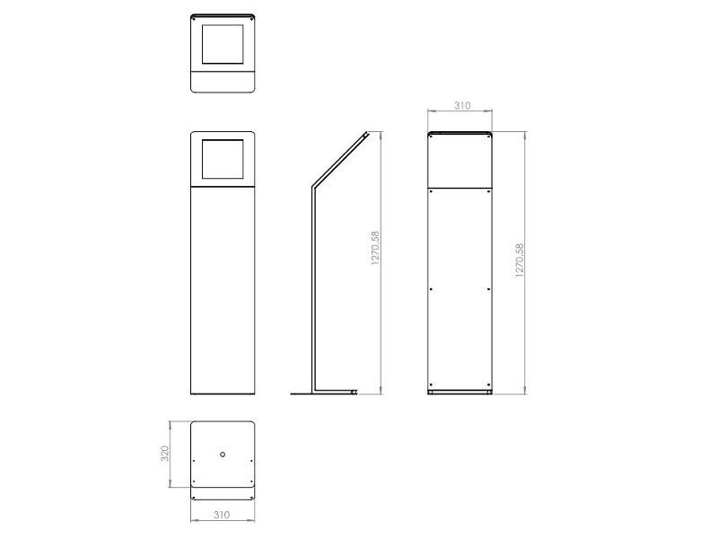 tablines tbs044 design tabletst nder apple ipad pro 12 9 hoch. Black Bedroom Furniture Sets. Home Design Ideas