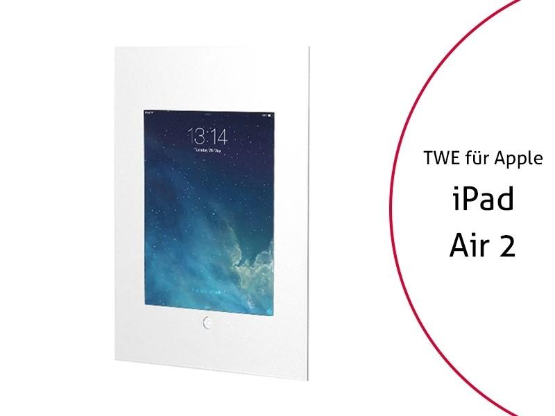 tablines twe054w tablet wandeinbau apple ipad air 2 wei. Black Bedroom Furniture Sets. Home Design Ideas