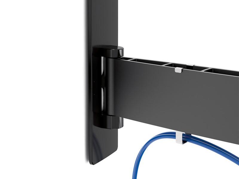 vogels wall 2245 schwenkbare tv wandhalterung schwarz. Black Bedroom Furniture Sets. Home Design Ideas