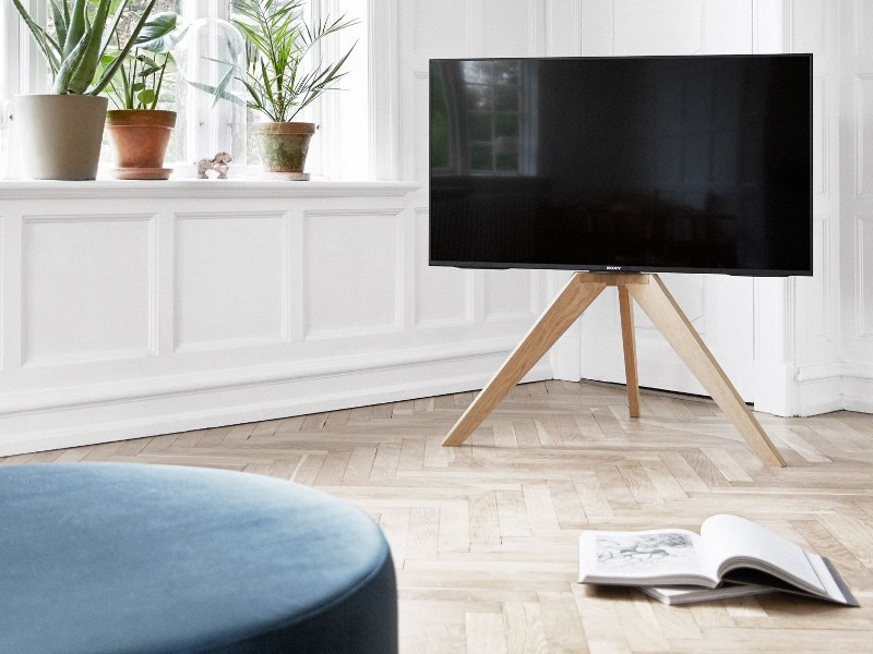 ... Vogels NEXT OP1 Design TV Ständer Holz ...