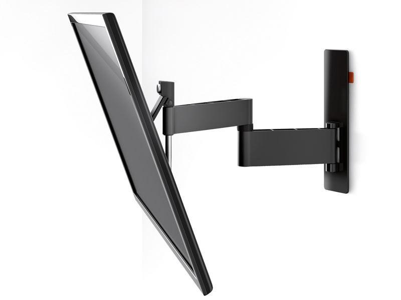 vogels wall 2345 schwenkbare tv wandhalterung schwarz. Black Bedroom Furniture Sets. Home Design Ideas