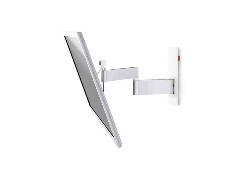 vogels wall 2345 schwenkbare tv wandhalterung wei. Black Bedroom Furniture Sets. Home Design Ideas